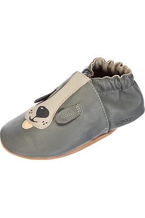 Robeez Unisex Baby Sweety hund spjälsäng sko, - Camel - 19 EU