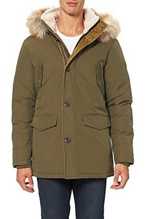 Wrangler Herr parkas jacka, murgrönegrön, XL