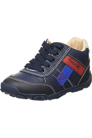 Geox Baby pojkar B Balu' Boy B First Walker Shoe, Marinblå - 22 EU