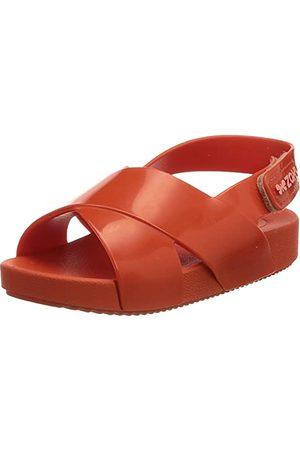 Zaxy Baby flicka nina Brilha Slide Sandal, Naranja - 22 EU