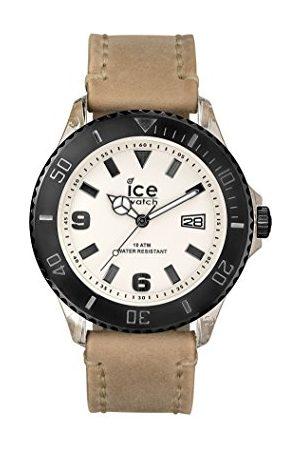 Ice-Watch Ice Watch herr kvartsklocka med svart urtavla analog display kvarts läder VT. SD. BB. L.13