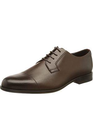 HUGO BOSS Man Loafers - Herr Ruston_derb_ltct Derby, Mörk brun202-41 EU