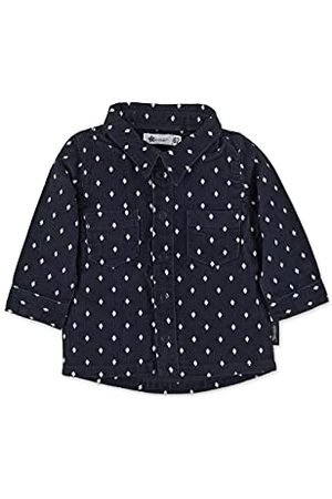 Sterntaler Pojke Skjortor - Baby pojkar rutig klassisk skjorta, marinblå, 74 cm