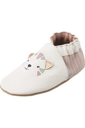 Robeez Unisex Baby Charmiga katter spjälsäng sko, - Clair Rose - 19 EU