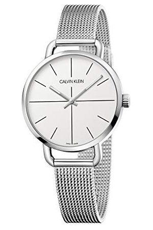 Calvin Klein Calvin liten unisex vuxna analog digital kvartsklocka med rostfritt stål armband K7B23126