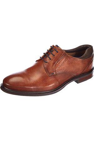 Lloyd Mäns Karenz Uniform klänning sko, Cognac Café - 38.5 EU