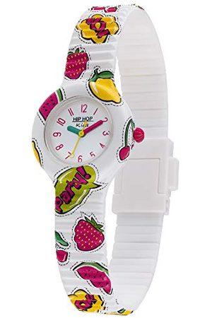 Hip Analog kvartsklocka för flickor med silikonrem HWU1036