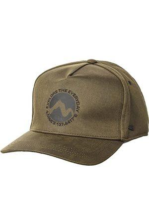 Camel Active Herrar 4061706C17 Baseballkeps, Olive Brown, OS