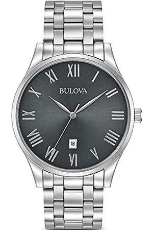 Bulova Herr analog kvartsklocka med rostfritt stål armband 96B261
