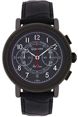 Gigandet Herrklocka kronograf vintage klocka läderarmband herrklocka röd baron G19 Röd baron IV 02