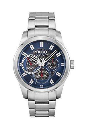 HUGO BOSS Analog kvartsklocka för män med rostfritt stålband 1530191