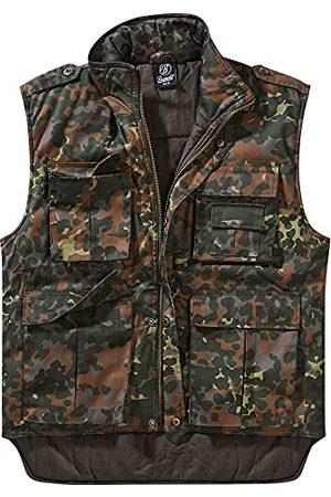 Brandit Ranger väst, vadderad, med många fickor, Fleece kamouflage, XXL
