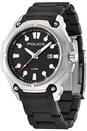 Police Mäns armbandsur analog kvarts plast PL.13939JS/02