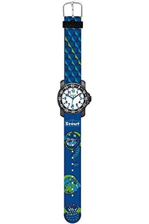 Scout Pojkar analog kvarts klocka med textil armband 280376015