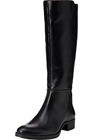 Geox Damer D Laceyin E Knee hög Boot, Black D04bfe05443c9999-40 EU