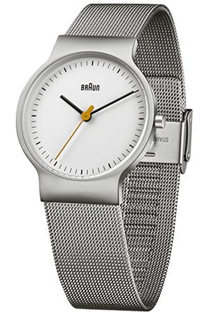 von Braun Herrarmbandsur klassisk armbandsklocka analog kvarts rostfritt stål BN0211WHSLMHL