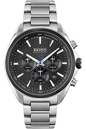 HUGO BOSS Analog kvartsklocka för män med rostfritt stålband 1513857