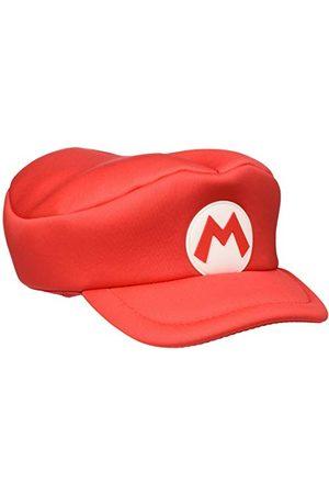 Bioworld Unisex Nintendo Super Bros. Kids Mario Logo Curved Hat, Red (HAY100506NTN) Skärmmössa, , One Size