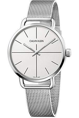 Calvin Klein Calvin liten unisex vuxna analog digital kvartsklocka med rostfritt stål armband K7B21126