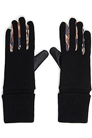 Desigual Womens Animal Patch Cold Weather Gloves, , U (2-pack)