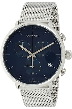 Calvin Klein Calvin liten unisex vuxna kronograf kvartsur med rostfritt stål armband K8M2712N