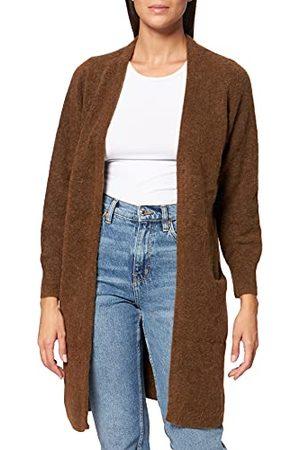 Object Kvinna Koftor - Objnete ny cardigan noos tröja för kvinnor, Silvergrå/detalj: melerad, L