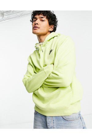 Nike – Revival – Limefärgad huvtröja