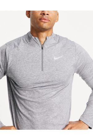 Nike – Element – sweatshirt med halvlång dragkedja