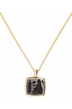 TOM WOOD Athena halsband i 9K guldpläterad sterlingsilver