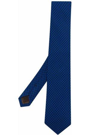 Church's Man Slipsar - Hundtandsmönstrad slips