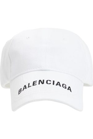 Balenciaga Kvinna Kepsar - Logo Embroidered Baseball Hat