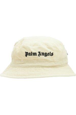 Palm Angels Logo Corduroy Bucket Hat