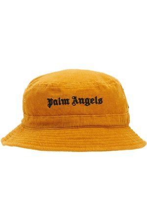 Palm Angels Kvinna Hattar - Logo Corduroy Bucket Hat