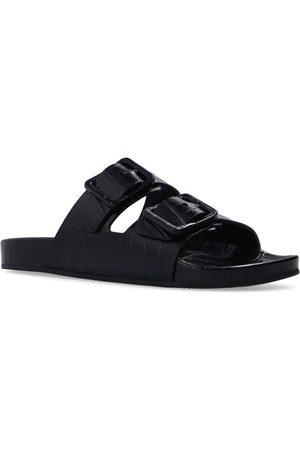 Balenciaga Man Tofflor - Mallorca Leather Slides
