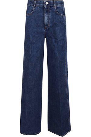 Stella McCartney Kvinna Bootcut jeans - Flare Rib Trousers