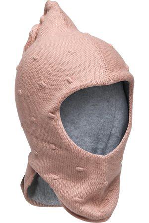 Mini A Ture Juel Hood Solid, Mk Accessories Headwear Balaclava Rosa