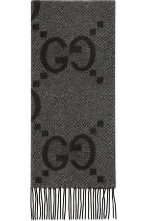 Gucci GG cashmere jacquard scarf