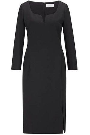 HUGO BOSS Slim-fit dress with LENZING™ ECOVERO™