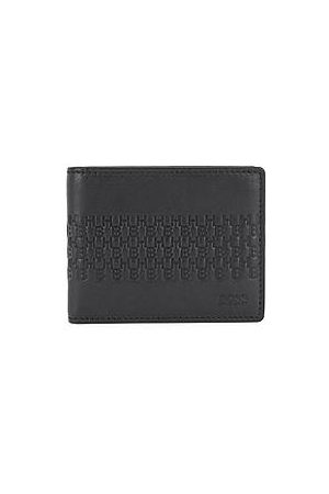 HUGO BOSS Leather wallet and cardholder gift set with emed monograms
