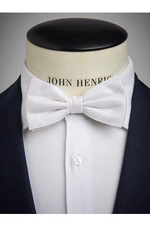 John Henric Man Flugor - White Bow Tie Formal