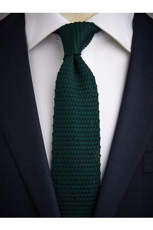 John Henric Green Knitted Tie