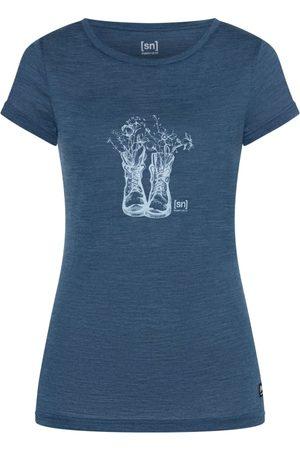 Supernatural Kvinna Kortärmade t-shirts - Women's Blooming Boots