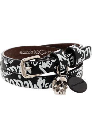 Alexander McQueen Omlottarmband med graffititryck