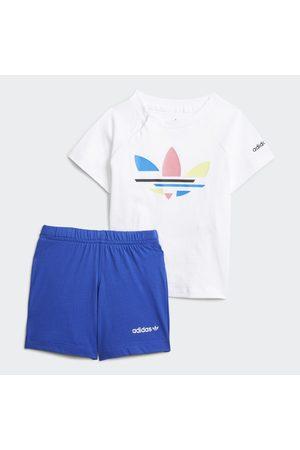 adidas Barn Shorts - Adicolor Shorts and Tee Set