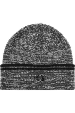 Fred Perry Man Hattar - Twin Tipped Ribbed Beanie Hat