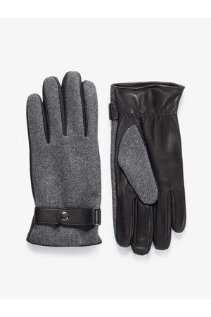 John Henric Man Handskar - Black Leather Gloves Whistler