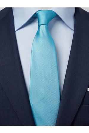 John Henric Man Slipsar - Turquoise Tie Plain