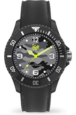 Ice-Watch – Bastogne antracit – herr (unisex) armbandsur med silikonrem – 016292 (medium)