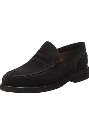 Lottusse Man Loafers - L6903_104390 Loafers för män, Moka, 44 EU