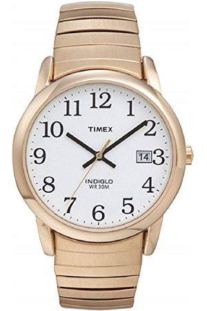 Timex Herrarmbandsur vit analog rostfritt stål armband Silverton
